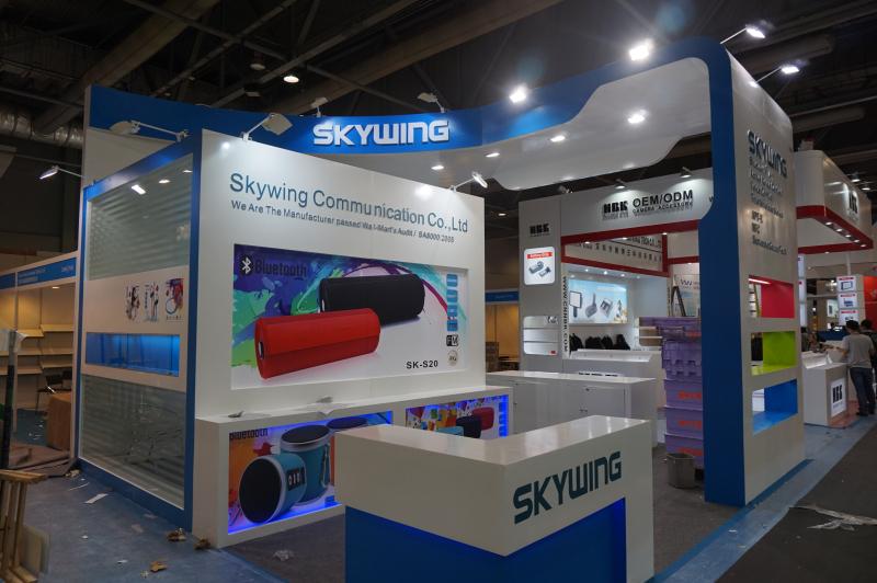 展会设计装修;广州展览公司;香港灯饰展;展厅设计装修
